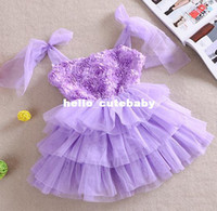 Cheap 5pcs lot New 2014 Baby Girls Rose Dress Children Kids Tutu Princess lace strap dresses wholesale clothes for summer A78