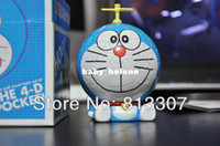 Wholesale Doraemon D cm Japan Anime Cartoon The Bamboo Dragonfly DIY Puzzle Packed Model Toys Figure Hot Sale