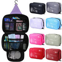 Wholesale Genuine men and women travel travel wash bag cosmetic bag large capacity bag hanging toilet