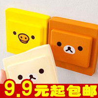 Wholesale E9276 Queer dust electric shock easily bear soft silicone switch cover everyday household switch series sets