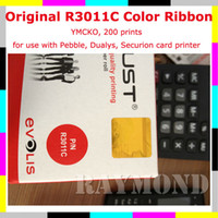 Wholesale Original Evolis R3011 YMCKO Color printer card Ribbon cheap ribbon