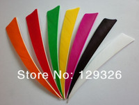 Wholesale Archery quot SHIELD TURKEY FEATHERS Arrow fletching color to choose end product BY EMS FAST