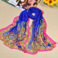 Wholesale 11 Colours For Choice Paisley Pattern Scarf High Quanlity Lady s Chiffon Scarves