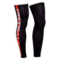 Wholesale 2013 CASTELLI Red amp Black Cycling Sport Leg Warmers Sleeve Spandex Coolmax Lycra UV Protection Size S XXL C48