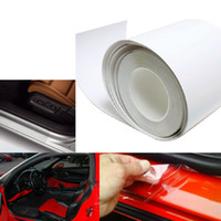 audi paint - 4 quot x quot cmX100cm Universal Clear Door Sill or Door Edge Paint Protection Vinyl Film Sheet M