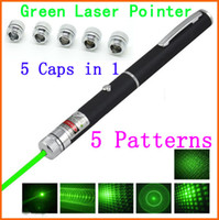 Wholesale High Quality MW Laser Pointer in Mini Party Green Lasers Pen Patterns Pointer with Star Caps Beam