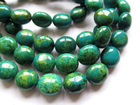 Wholesale fashion mm strands turquoise gemstone nuggets freeform yellow blue green mixed tibetant jewelry beads inch L