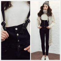 Jeans Men Bootcut jeans Octopussy Goddess stylenanda latest qiu dong fashion buckle black overalls 933 4