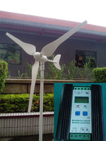 Wholesale Small and portable W V v AC Wind Power Generator Turbine Windmill W Wind Solar Hybrid Controller w wind w solar