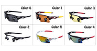 Cheap PC sport sunglass Best Sports Semi-Rimless cycling sunglasses