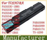 Wholesale SZYBOO New laptop battery For TOSHIBA PA3533U BRS PA3533U BAS PA3534U BAS PA3534U BRS PA3535U BAS PA3535U BRS PABAS098