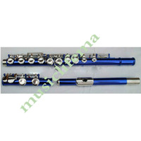 Wholesale new16 holes blue flute closed beautiful shape fine tone