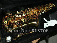 Wholesale New Arrival Selmer Golden Alto Sax Saxophone with case