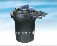 Cheap Wholesale - Free shipping!12000L Hr Sunsun Fish Pond Pressurized Bio Filter System with UV-11W lamp