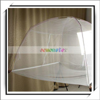 Wholesale quot quot Bed Canopy Mosquito Net White New and High Quality J01263