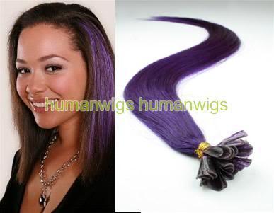 Cheap Dark Purple Hair Extensions 86