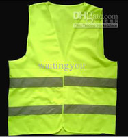 Wholesale 150pcs free eulink reflective safety vest coat Sanitation vest Traffic safety warning clothing vest
