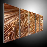 Disposable   Wholesale - METAL PAINTINGING BY ARTIST XLEI Z abstract METAL wall Art Decor Contemporary new elegant Original Modern Sculpture