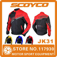 Wholesale Scoyco JK31 Jacket Motorcycle Racing Protection For Mens Women Sport Motorbike High Protective Accessories