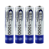 Wholesale 8 AAA Battery V mAh NI MH NIMH Rechargeable Battery for Mp3 Mp4 TV Remote