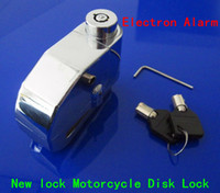 Wholesale mm steel Motorbike Motorcycle Brake Disc Safety Lock Alarm Security Electron Alarm Safety with Keys LOK