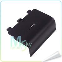 al por mayor controladores de xbox para la venta-Caliente la Venta de 650 mAh Nuevo USB Recargable Reproducir y Cargar el Cargador de Batería Para Xbox Controlador de 002106