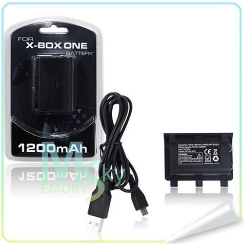 Зарядное USB-устройство для зарядки и зарядки аккумулятора 1200 мАч для контроллера Xbox ONE 002107