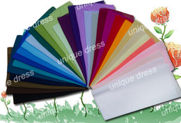32-цветные образцы тканей для платья