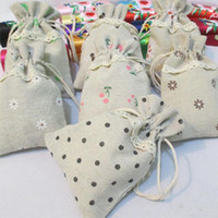 Wholesale Wedding Favor Holders Linen Gift Pouches style choose Candy Chocolate Present Gift Guess Pouches