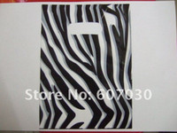 Wholesale Free Shiping zebra and leopard Plastic Shopping Gift Bags For Gift Shopping Jewelry x20cm