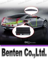 Wholesale LLFA4218 Free DHL Car LED Parking Reverse Backup Radar System with Backlight Display Sensors colors hot sale