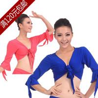 Cheap Belly dance costume dance costumes suit jacket Square Dance tribal shawl cardigan S07 practice