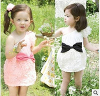 2014 girls dresses Ruffles girl dress baby girl summer dress...