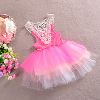 2014 Baby Girl Dress Baby Sleeveless Tutu Dress Kids Princes...