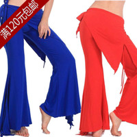 Cheap Square dance belly dance costumes belly dance practice pants trousers new open his hips skirt tribal K01