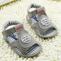 Wholesale Baby Boys Girls Sandals Infant soft bottom Toddler shoes size Children Shoes TX87