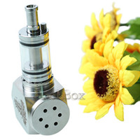 Electronic Cigarette Set Series Stainless steel Hammer E Pipe Mod Kit E cig Mechanical E-Pipe Mod E Cigarette with 2 extension tubes for CE4 CE5 Vivi Nova Protank 3 Atomizer with gift box