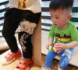 Wholesale 2014 Spring New Arrival Zebra Year Baby Harem Pants Cotton Good Quality Small Kids Boy Girl Casual Pants Toddler Under Wear GX23
