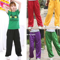 Wholesale New Fashion Casual Boy Girl Loose Pants Hip Hop Sports Pants Trousers F