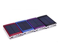 Wholesale Good news power bank mah Emergency Portable high capacity solar charger fast home delivery