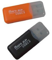 Wholesale High Speed USB TF Card Reader Mini USB Micro SD TF Memory Card Reader T Flash Promotion Gift