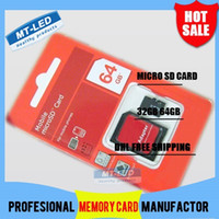 Wholesale DHL high speed SDi GB GB Class Micro SD TF Memory Card with Adapter Retail Package Flash SDHC Cards G G Transflash