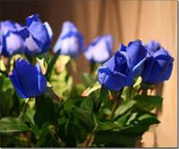 8 colors artificial roses, Artificial Flowers Simulation Rose...
