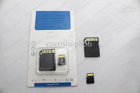 Wholesale HOT high speed SS GB GB Class Micro SD TF Memory Card with Adapter Retail Package Flash SDHC Cards G G Transflash