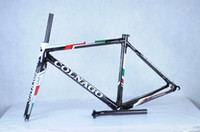 Wholesale 2014 top quality Colnago C59 Disc full carbon bike frame with fully hydraulic front and rear disc INCI brakes bicycle frameset black green