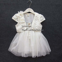 Summer baby wrap dress - Kids Clothes Child Princess Dress Kids Summer Dress Girls Wraps Lace Dresses Flower Child Dress Baby Dresses Children Clothing Girl Dresses
