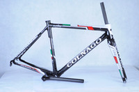 Wholesale 2014 top quality Colnago C59 Disc INCI full carbon bike frame with fully hydraulic front and rear disc brakes bicycle frameset black gree