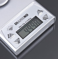 Wholesale 0 g g g LCD Digital Jewelry Diamond Pocket Waage Scale Gem weight by DHL