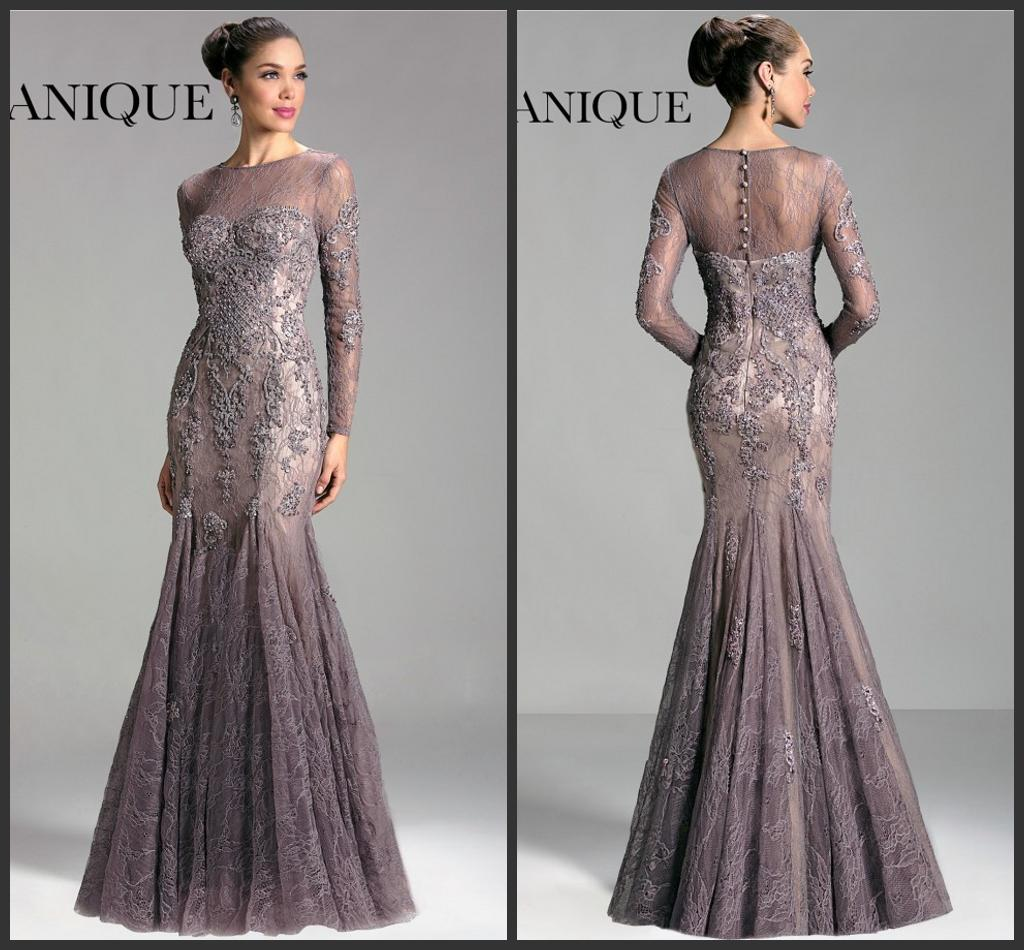 Long Sleeve Mother Of The Bride Dresses