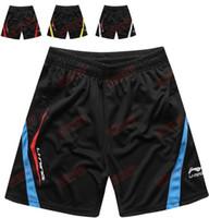 Wholesale Li Ning Men s table tennis sportswear shorts Sports shorts YP323